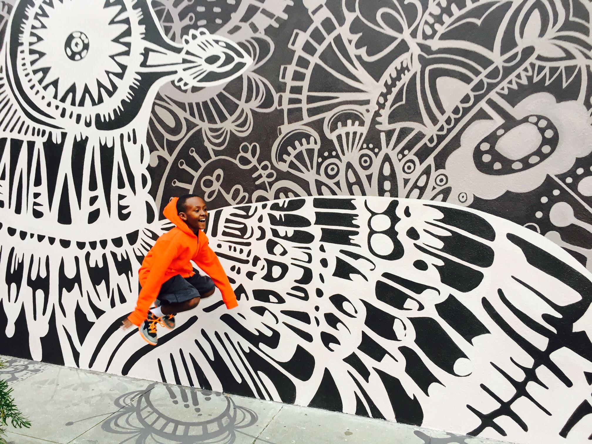 Mural, San Francisco 2017