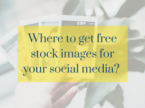 Where to get the best free stock images for your social media?