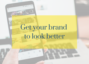 Get your brand to look better