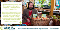 Visual highlighting case studies of successful social enterprises to encourage people to apply for a