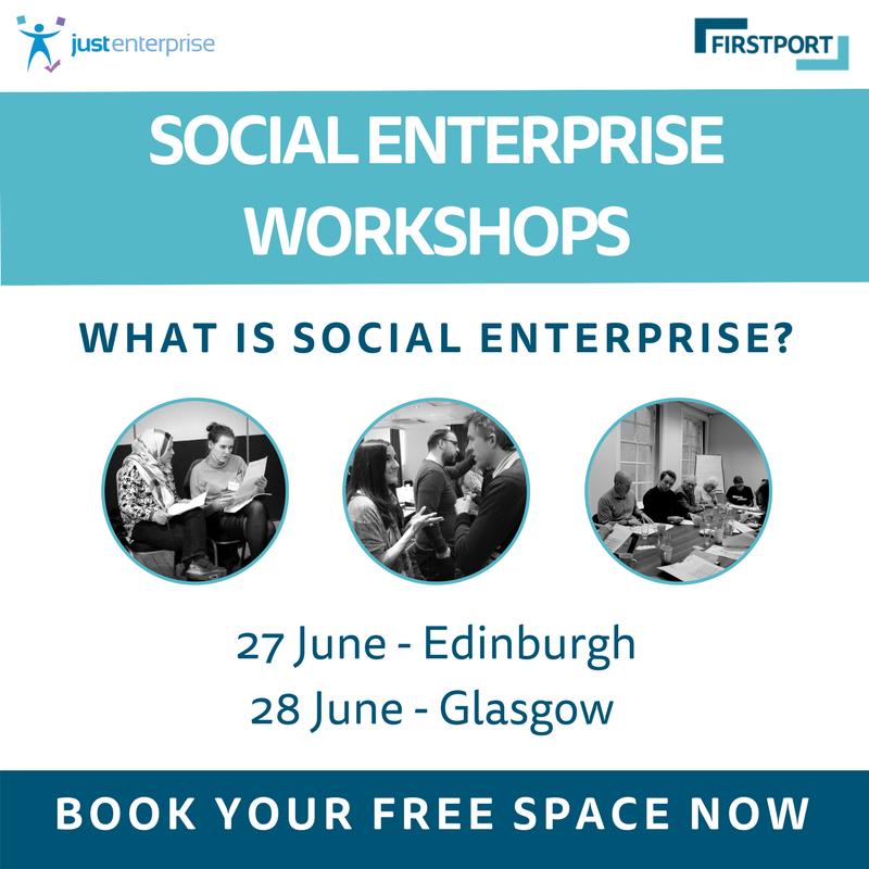 Promotion for workshops for Firstport