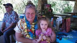 hannah and msmary at picnic 2013.jpg