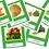 Thumbnail: Veggies 3-Part Cards - Hawaiian
