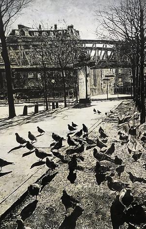 Les pigeons et le métro aérien