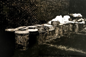 Les poubelles à New-York
