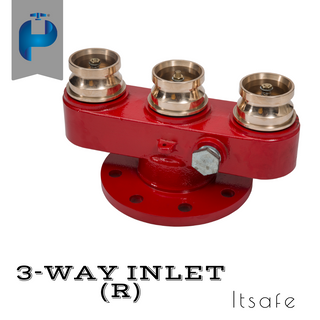3 Way Fire Inlet - G.M
