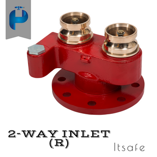 2 Way Fire Inlet - G.M