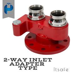 2 Way Inlet - Adapter Type