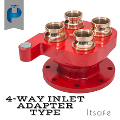 4 Way Inlet - Adapter Type