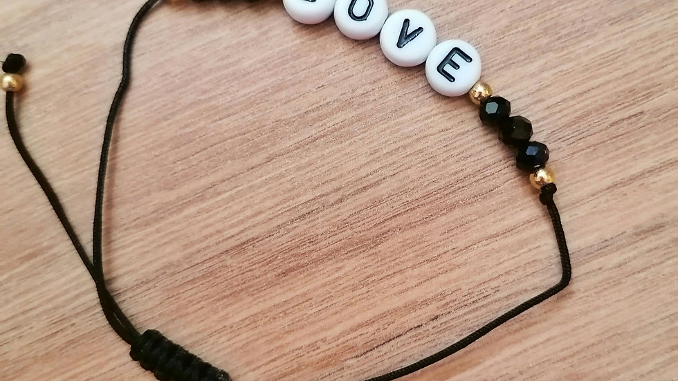 Bracelet fin LOVE My'Biche