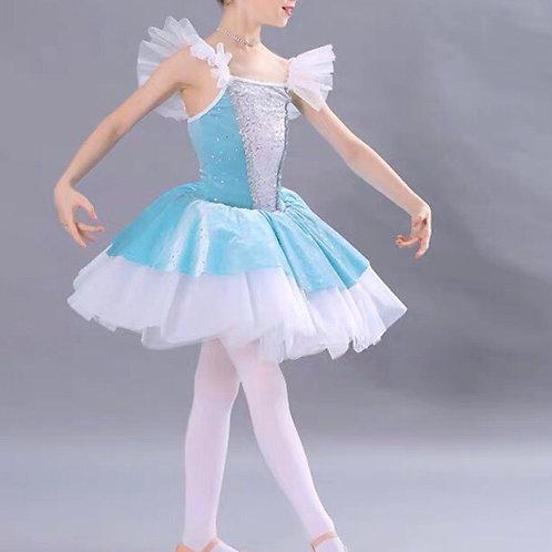 light blue ballet costume
