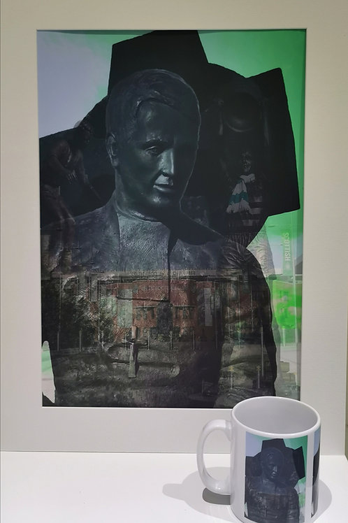 Walfrid print and mug set