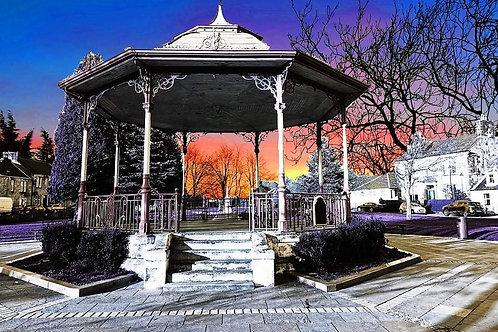Kilsyth Bandstand sunset