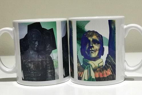 Walfrid and Cesar mug combination