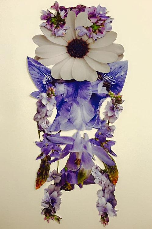 Claudia Veneroni Lilac print