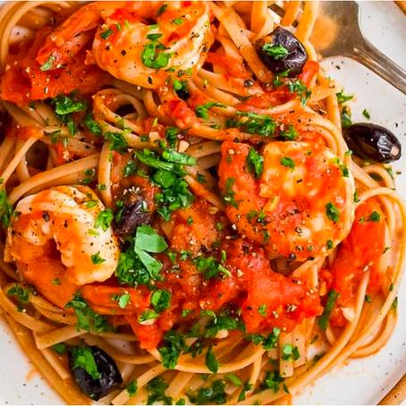 15 Minute Shrimp Puttanesca