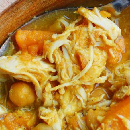 Freezer Friendly: Curried Chicken Slow Cooker Stew