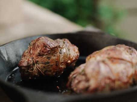 Spiced Pork Roast with Cauliflower Mash