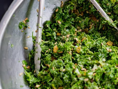 Crunch Almond Tuna Salad