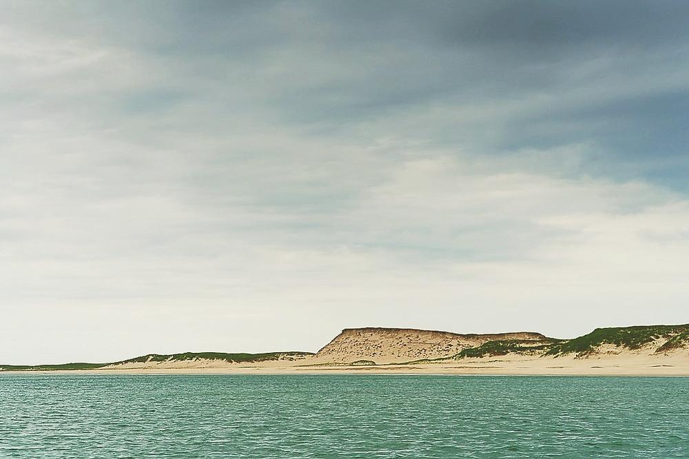 Photo de l'entrée à l'île de Sable