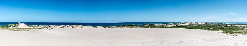 Panoramique de l'île de Sable