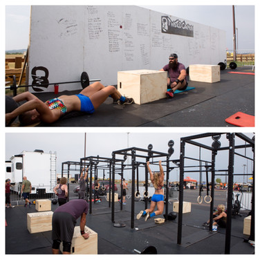 CrossFit at Buffalo Chip