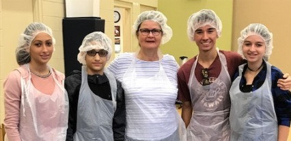 CFLA Students and Faculty Volunteer to Help Pack 10,000 Meals for the Bahamas!
