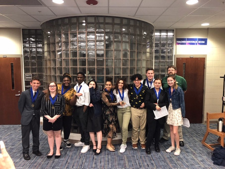 CFLA Students Earn Gold and Silver Medals at District History Fair Competition