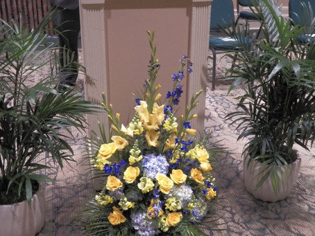 Thank you to In Bloom Florist for lovely donation!