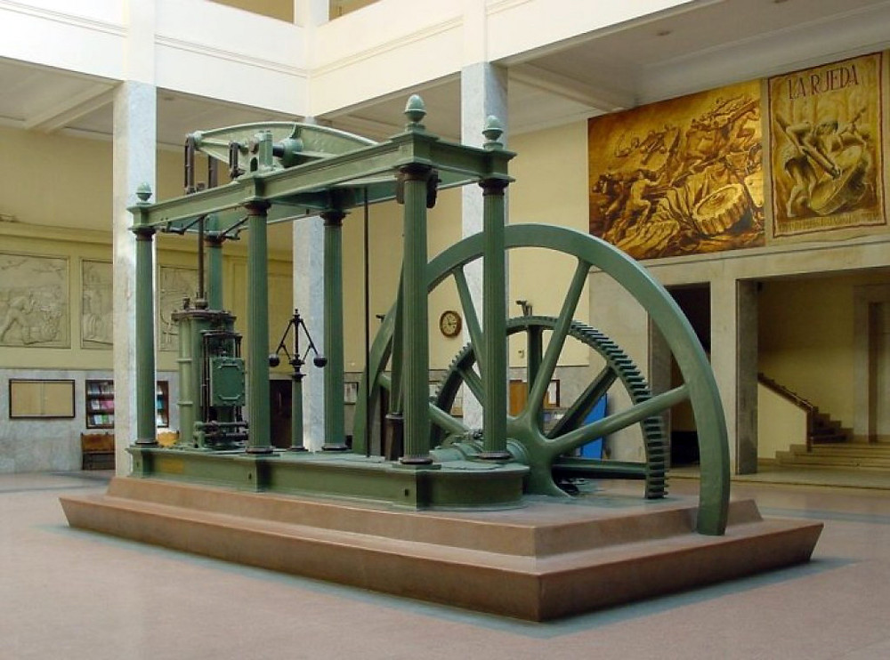 Father of the modern steam engine: James Watt