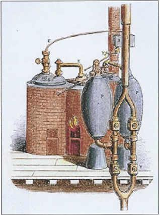 Birth of steam engines