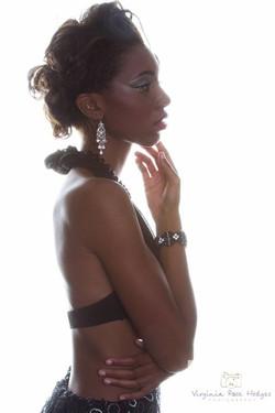 Model Jasmine Jones HMUA_ Toné Jackson Photography Virginia Hodges__Designer _ J-na Haute Couture Je
