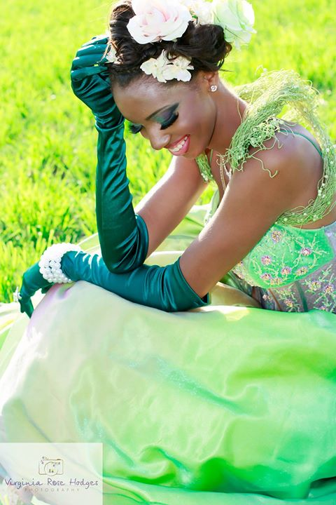 Princess and The Frog with Model_ Jasmine JonesPhotography by Virginia Rose Hodges Photography FB_ P