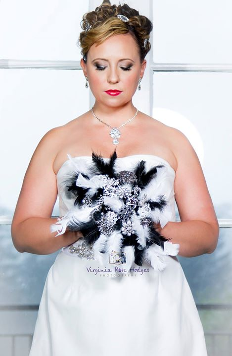 Beautiful bride Karen Michelle Bailey Hmua Toné Jackson Photography Virginia Hodges