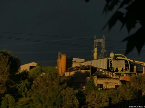 La colline de Sarcin à Connaux (Gard)