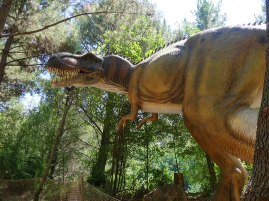 Vous me reconnaissez..Je suis Tyranausaure Rex. Alors, venez me voir au...