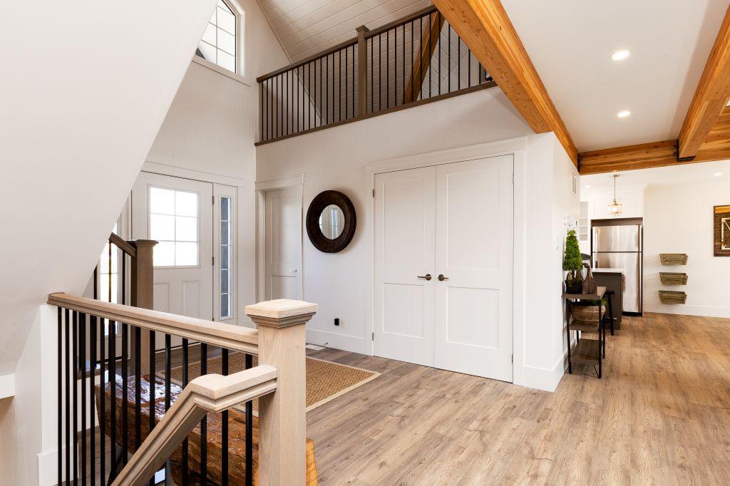 Hardwood Staircase 1