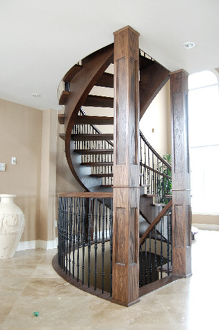 Curved Staircase 3