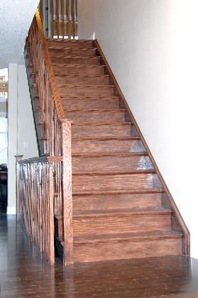 Hardwood Staircase 5