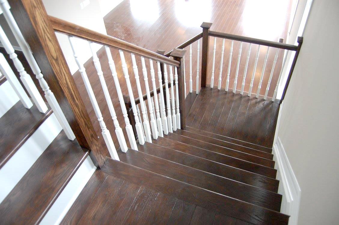 Hardwood Staircase 3