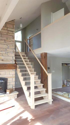 Open Riser Staircase 2