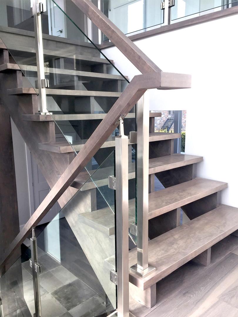 Open Riser Staircase 9