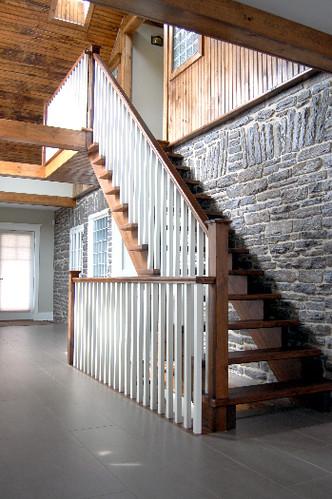Hardwood Staircase 2