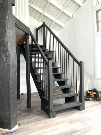 Open Riser Staircase 1