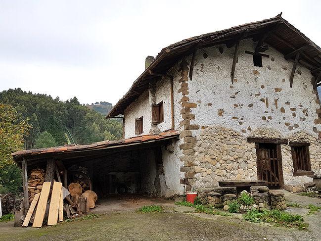 A typical Basque farmhouse or Baserri