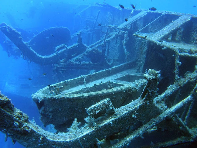Zenobia is one of the best shipwreck diving sites in the world
