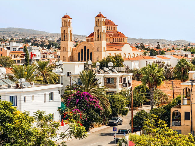 Paphos – a coastal city on the southwestern tip of the island of Cyprus – is home to a tiny population of just 35,961 people