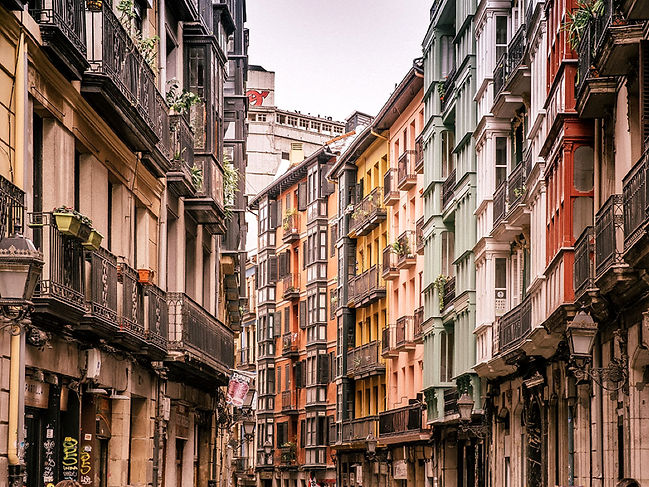 The colourful Las Siete Calles (Seven Streets)