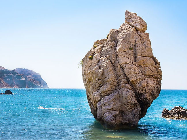 Just 3 laps around Aphrodite's Rock will bless you with eternal youth and beauty