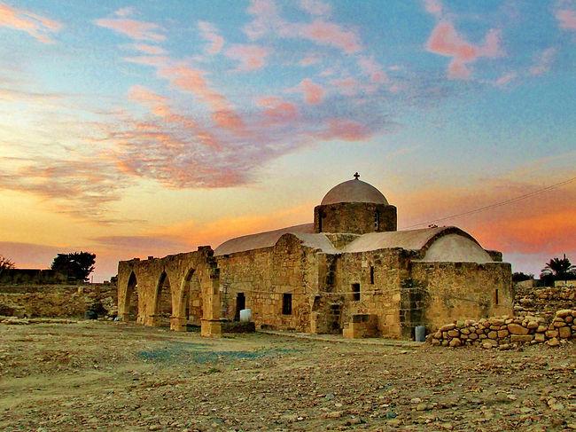 The famous Sanctuary of Aphrodite